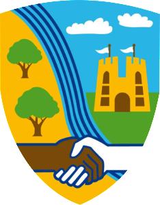 School Badge - No Borders