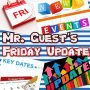 Parent Update from Mr. Guest (17th September 2021)