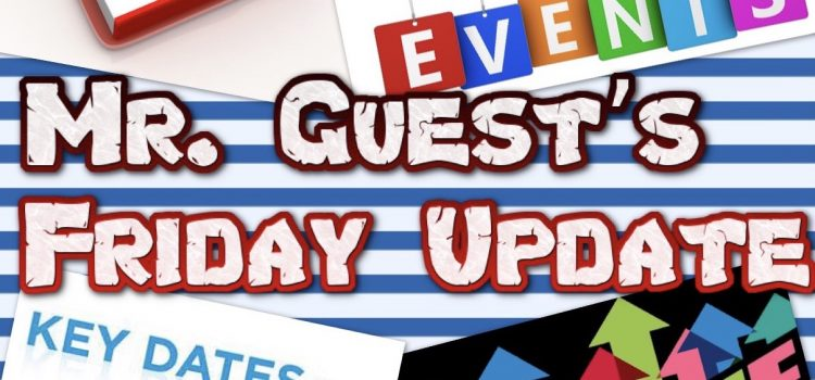 Parent Update from Mr. Guest (15th October 2021)